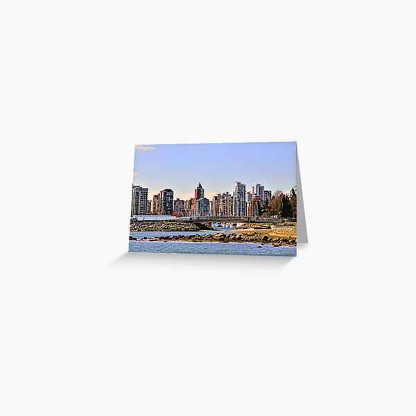 Vancouver, Canada Greeting Card