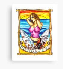 Hang Ten Canvas Print
