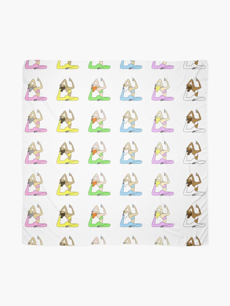 Alternate view of Yoga Rainbow  Scarf