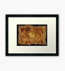 Old World Map Wall Art Redbubble