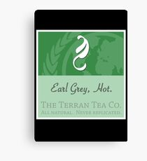 Fictional Brew - Earl Grey, Hot. Canvas Print