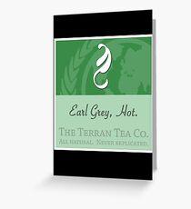Fictional Brew - Earl Grey, Hot. Greeting Card