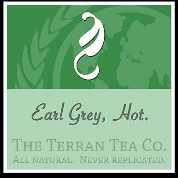 Fictional Brew - Earl Grey, Hot. by ladyjaye42