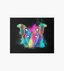 Butterfly insect colorful Art Board
