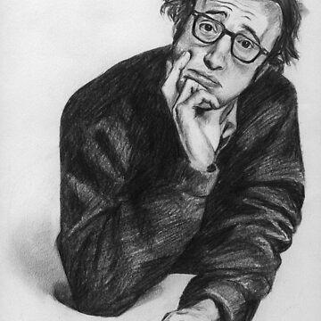 Woody Allen by bournemonkey
