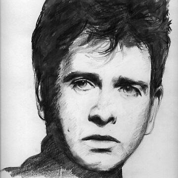 Peter Gabriel by bournemonkey
