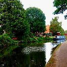 Along the canal...Nottingham by Douglas E.  Welch