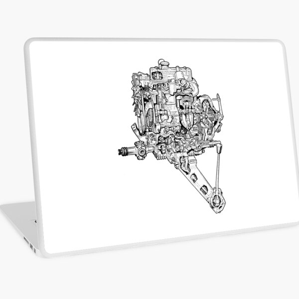 A-Series Transverse Engine Laptop Skin