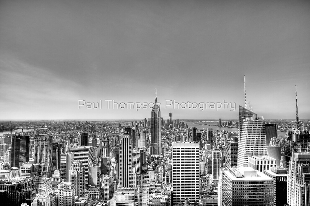 New York City by Paul Thompson Photography