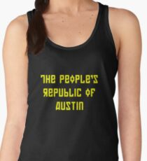 The People's Republic of Austin (yellow letters) Women's Tank Top