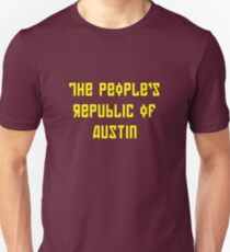 The People's Republic of Austin (yellow letters) T-Shirt