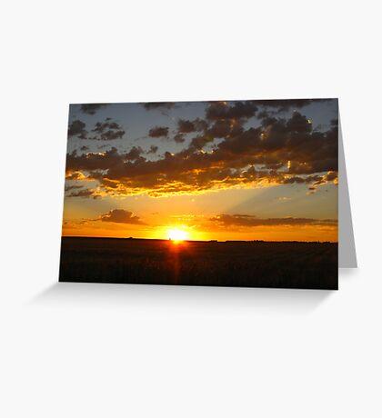 One Glorious Sunrise Greeting Card