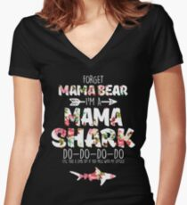 5cc2a9e1 Forget Mama Bear I'm a Mama Shark Do Do Do Floral Gift for Women