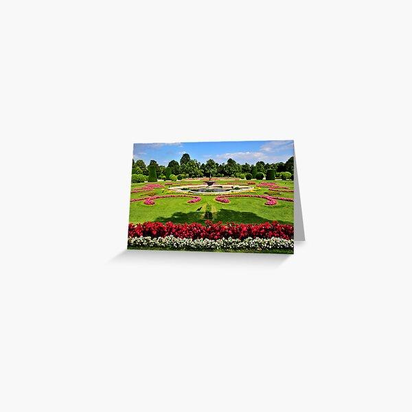 Garden at Schonbrunn Palace2 Greeting Card