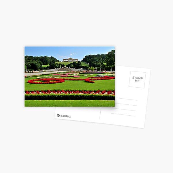 Garden at Schonbrunn Palace 1 Postcard