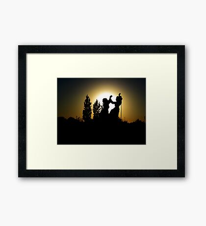 And We Shall Dance..! Framed Print