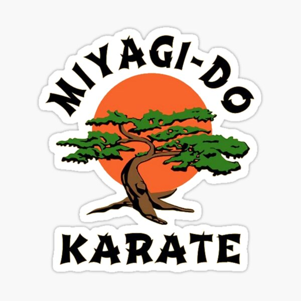 Miyagi do karate Sticker