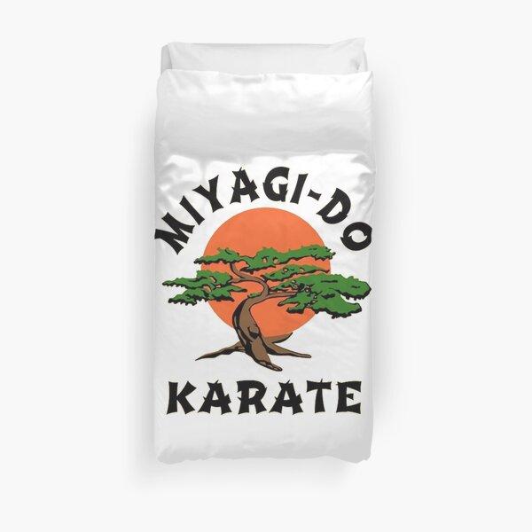 Miyagi do karate Duvet Cover