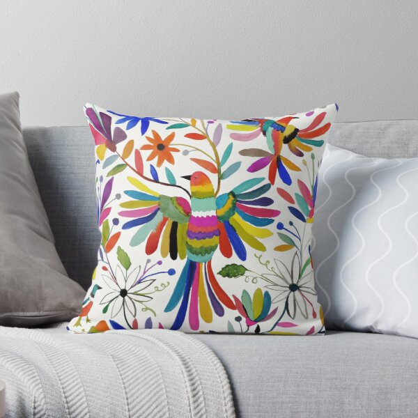 otomi bird Throw Pillow