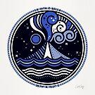 La Vita è Bella - Mittelmeervulkan in der blauen Palette von Cat Coquillette