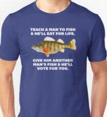 Teach A Man To Fish Unisex T-Shirt