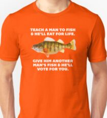 Teach A Man To Fish Unisex T-Shirt