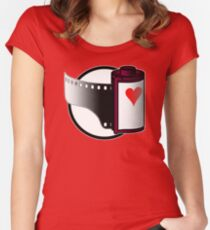 Love Film (or lose it?) Women's Fitted Scoop T-Shirt