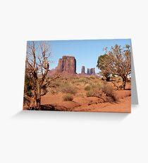 Monument Valley, Utah, USA Greeting Card