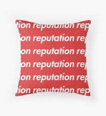 big reputation Throw Pillow