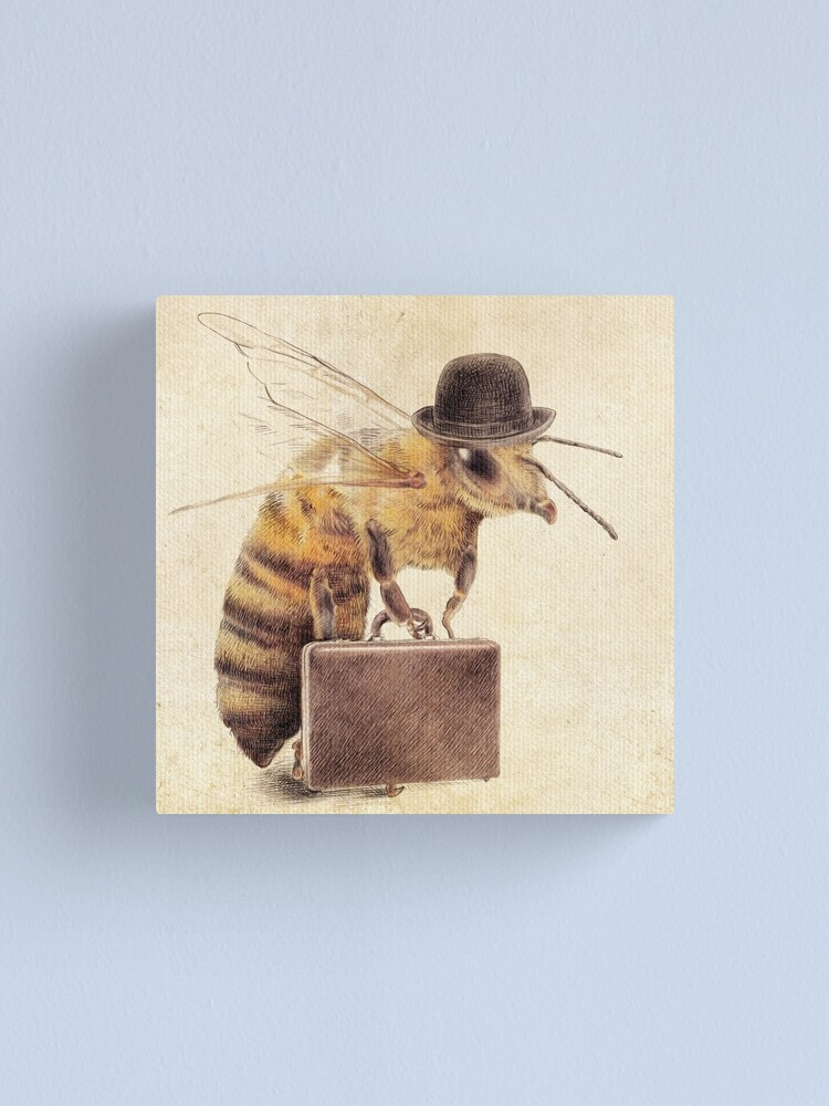 Alternate view of Worker Bee Canvas Print
