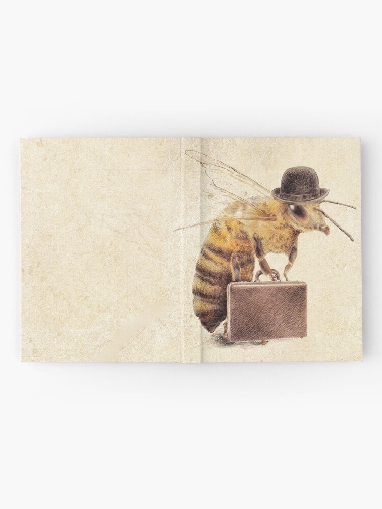 Alternate view of Worker Bee Hardcover Journal