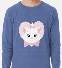 The Aristocats: Marie w/ heart Lightweight Sweatshirt