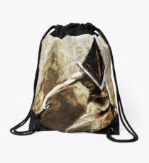 Pyramid Head Drawstring Bag