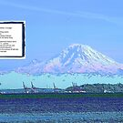 Mt Rainier from Discovery Park - Ordinary Courage - Poem by Kenneth S Lapham