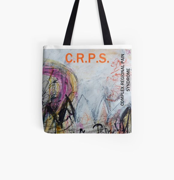 Dancing in My Mind-CRPS (Complex Regional Pain Syndrome) awareness design All Over Print Tote Bag