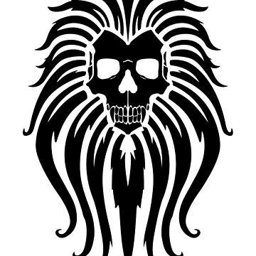 The Manticore (black) by RedTideCreative