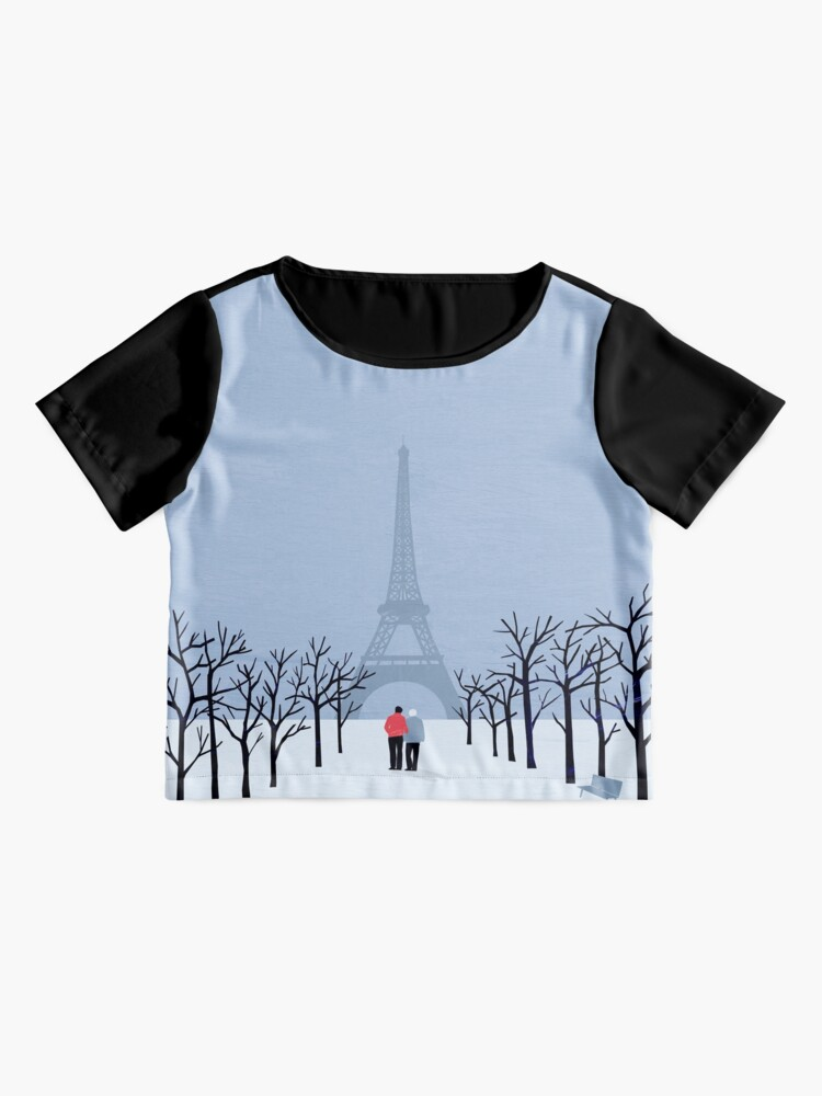Alternative Ansicht von Paris Chiffontop