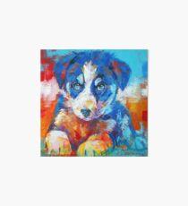 Border Collie Puppy Art Board