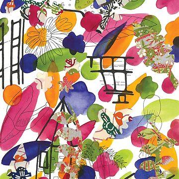 thinking garden by caromazing
