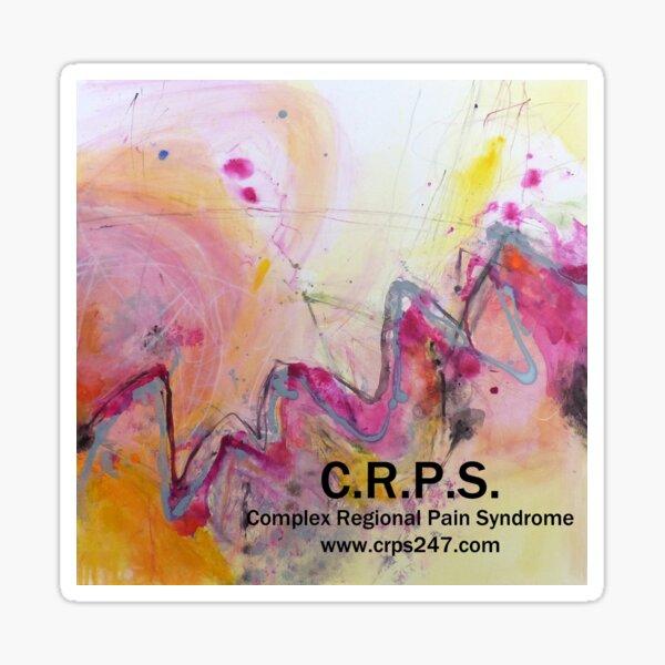 Zapped-CRPS awareness design Sticker