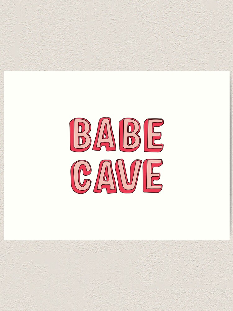 Alternate view of Babe Cave Art Print