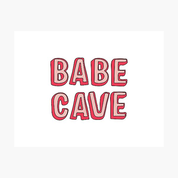 Babe Cave Photographic Print