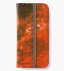 Fluid Dynamics 23 - Born of Fire iPhone Wallet/Case/Skin