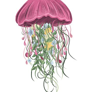 Jelly Fish Flowers by litteposterco