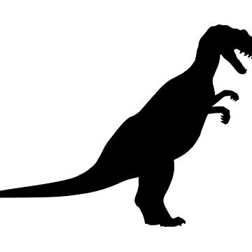 Black Dinosaur shape by igorsin