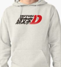 Initial D logo Pullover Hoodie