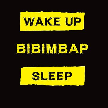 Funny Bibimbap Lover by robcubbon