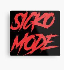 Sicko Mode Metal Print