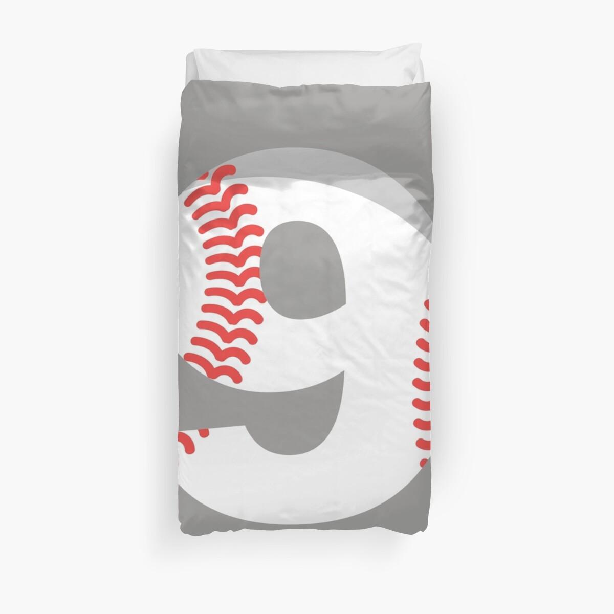Number 9 Baseball #9 by melsens