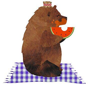 Cheltenham trug eine Wassermelone von Suziebh